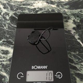 Gewicht Garmin Computer Edge Trittfrequenzsensor