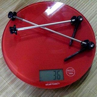 Gewicht Tune Schnellspanner DC14