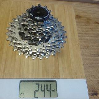 Gewicht Shimano Kassette Ultegra CS- R8000 11 Fach 11-28