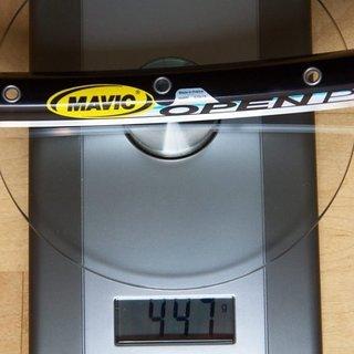 Gewicht Mavic Felge Open Pro 700c 32Loch