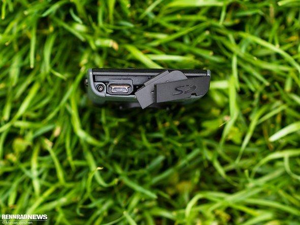Micro-USB-Port …