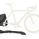 Die Gestellform und Aufhängung simulieren das Hinterrad